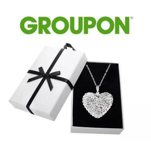 79% Off Sterling Silver Bubble Heart Necklace