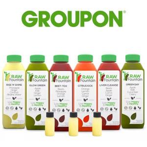 Ends 9/28: Up to 50% Off Raw Fountain Juice Cleanse Detox