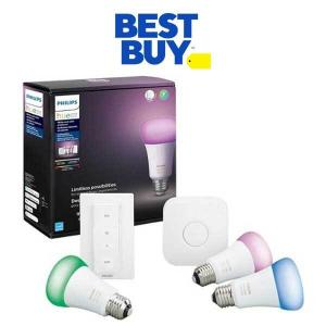 $40 Off Philips Hue Smart Lighting Kit