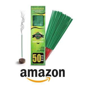 12% Off Mosquito Repellent Incense Sticks (50-Piece Box)