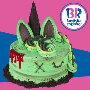 $5 Off Any Halloween Cake w/ Baskin App Order