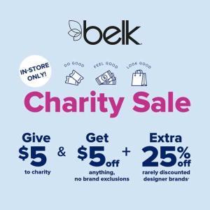 Charity Sale