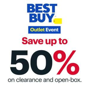 Up to 50% Off Clearance & Open-Box Items