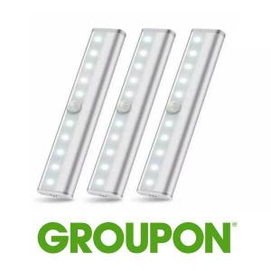 Up to 50% Off 10 LED Motion Sensor Stick-on Light Bar