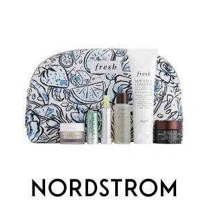 Free Cosmetics Bag & Deluxe Samples with $75 Fresh Purchase