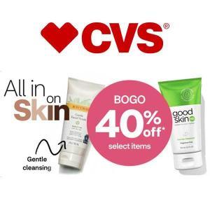 BOGO 40% Off Select Skin Care