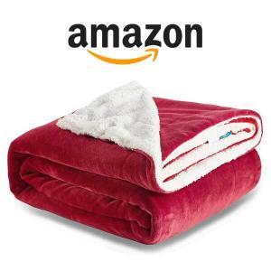 15% Off Bedsure Sherpa Fleece Bed Blankets Queen Size