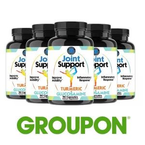 63% Off Angry Supplements Joint Support with Turmeric & Glucosamine