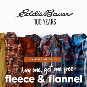 Buy 1, Get 1 Free Fleece & Flannel