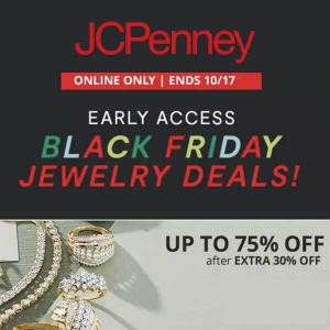 Ends 10/17: Black Friday Jewelry Sale: Up to 75% Off
