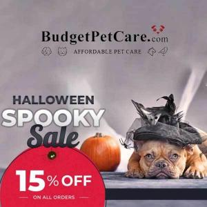 Halloween Sale: 15% Off All Orders