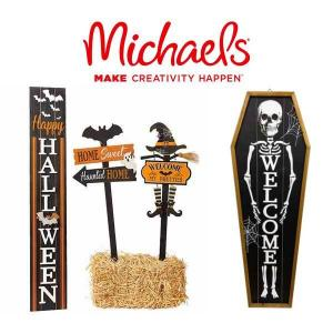 50% Off Halloween Yard Stakes & Porch Signs