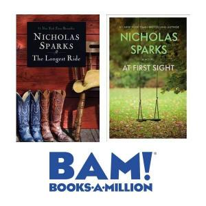 Limited Time: 50% Off Nicholas Sparks