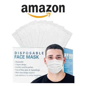 9% Off Individually Packed 3 Layer Disposable Face Mask