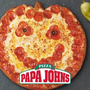 The Jack-O-Lantern Pizza for $11