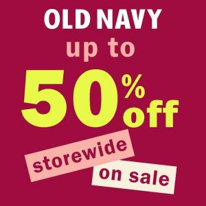 50% Off Storewide on Sale Styles from $10
