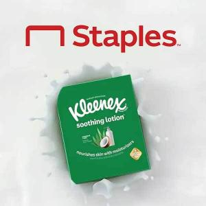 18% Off Kleenex Soothing Lotion Facial Tissue