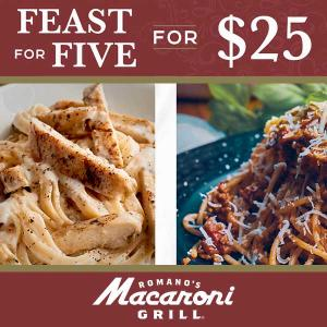 Feast Five for $25