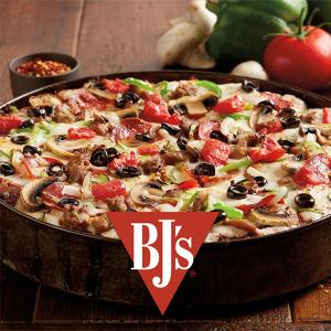 50% Off Pizza & $5 BJ's Brewhouse Margarita Every Monday