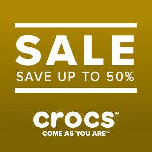 Sale: Save Up to 50% Off