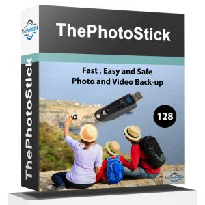 Up to 50% Off ThePhotoStick Thumb Drive (128 GB)