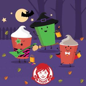 Free Five Frostys w/ Purchase of $1 Boo! Book