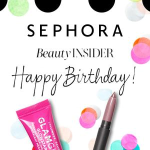 Free Birthday Gift Set for Beauty Insiders
