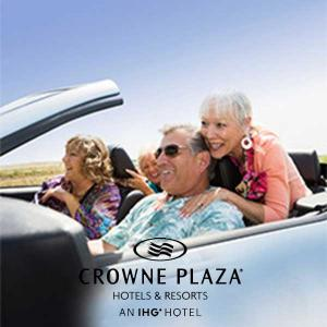 Enjoy Senior Rates When Staying at Crowne Plaza Hotels