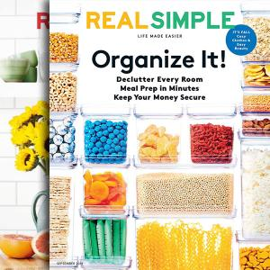 67% Off Real Simple Magazine 1 Year Auto-Renewal