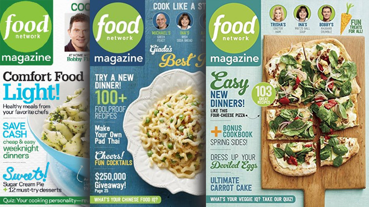 Updated food network magazine 1 year subscription for only 1200 enjoy watching the food network and learning from the best chefs now you can have all your favorite recipes and tips in print forumfinder Gallery