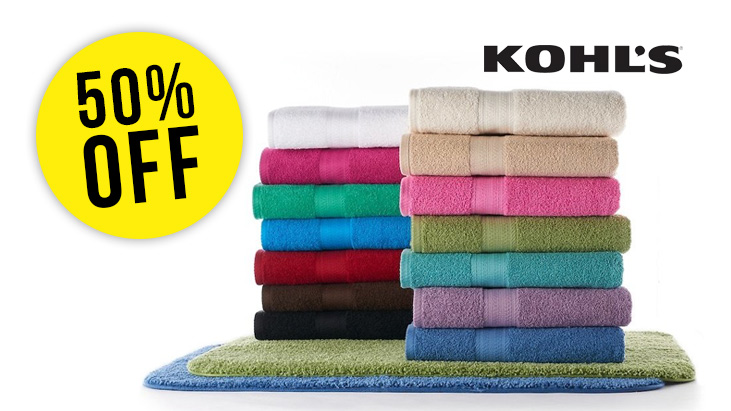 Kohls Bath Towels Unique EXPIRED] Kohl's The Big One Bath Towels Now 60% Off Senior