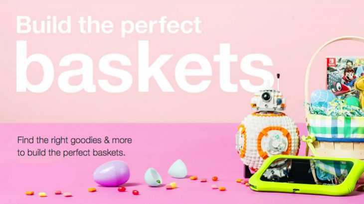 Expired target easter 5 gift card for 25 spent on basket fill up your easter baskets with todays target offer from gift ideas under 25 egg decorating kits to tons of delicious candy for your family and friends negle Images