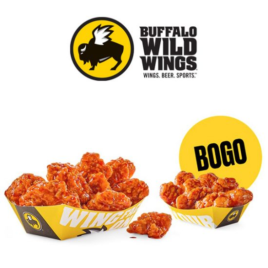 Specially Priced Boneless Wings Every Thursday