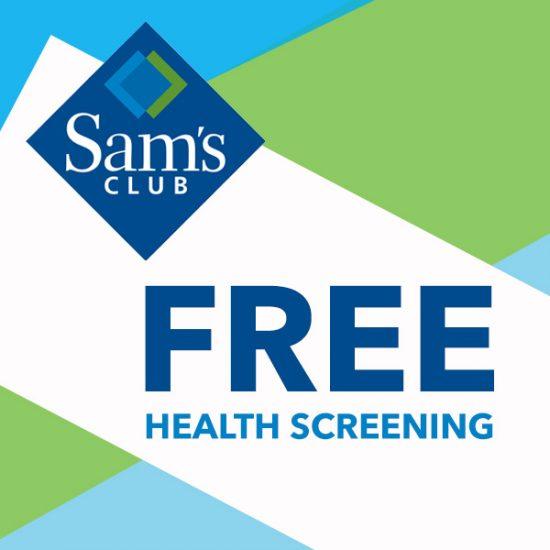 Get a FREE Health Screening (Worth $150)