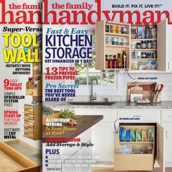 The Family Handyman Magazine: 1-Year Subscription 76% Off