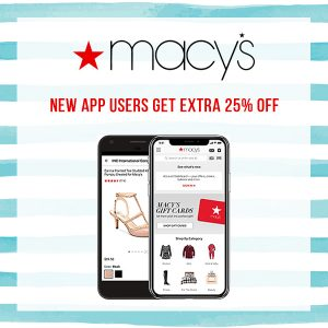 25% Off Your First App Order