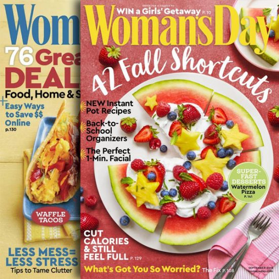 71% Off Woman's Day Print Magazine