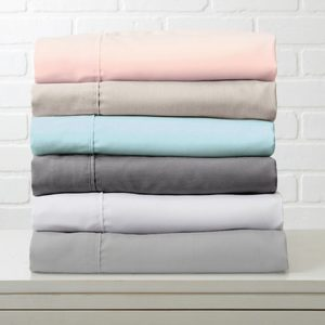 Up to 68% Off Double Brushed Wrinkle-Free Bed Sheets (3 or 4-Piece)