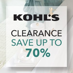 Clearance Sale: Save Up to 70%