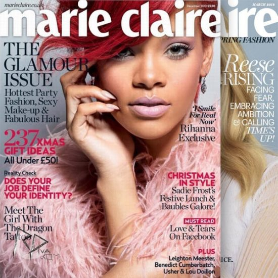 Marie Claire Magazine: 79% off 1-Year Subscription