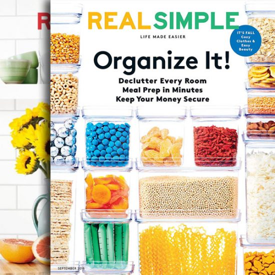92% Off Real Simple Magazine 1 Year Auto-Renewal