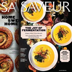80% Off Saveur Print Magazine 1-Year Subscription