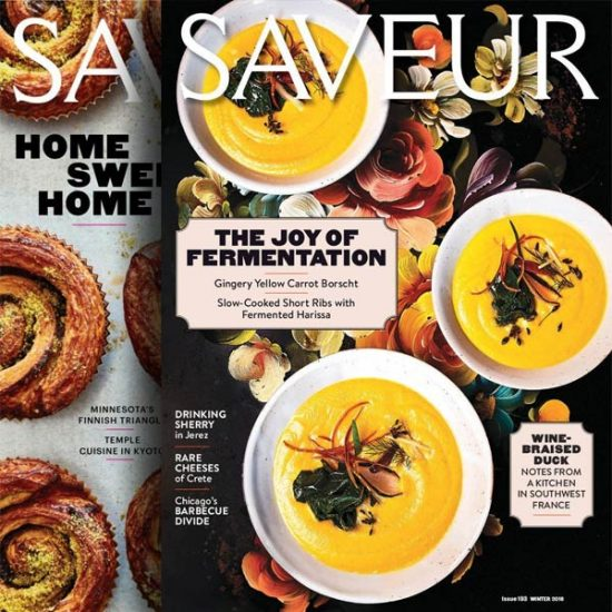 73% Off Saveur Print Magazine 1-Year Subscription