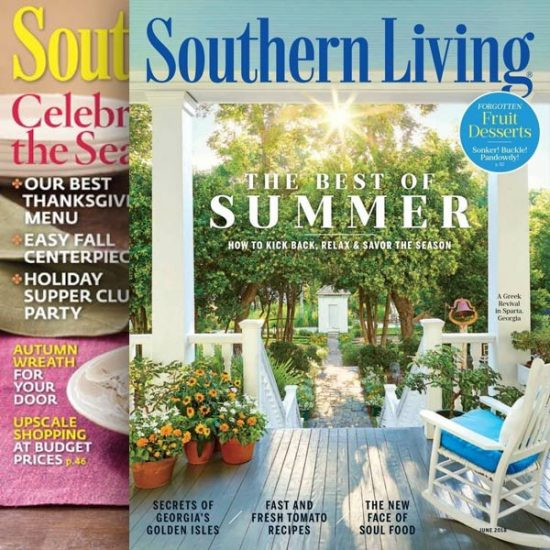92% Off Southern Living Magazine 1 Year Auto Renewal Senior Discounts Club