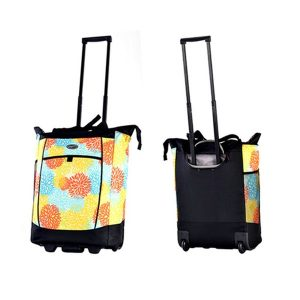 60% Off Rolling Shopper Tote Trolley Bag