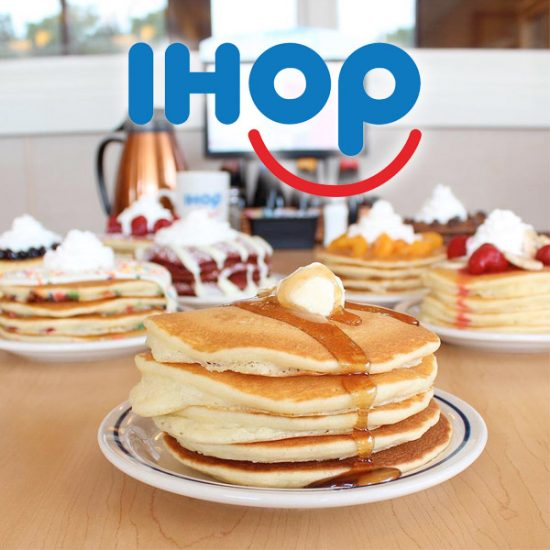 TODAY (Mar. 12) ONLY: FREE Short Stack of Original Buttermilk Pancakes