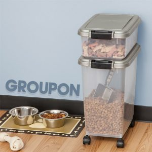 38% Off Pet-Food Bins and Scoops (3-Piece)