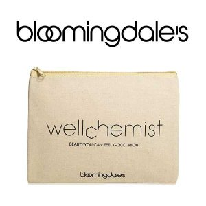 Free Wellchemist Canvas Cosmetics Bag w/ $75+ Order