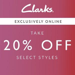 Online Exclusive: 20% Off Select Footwear