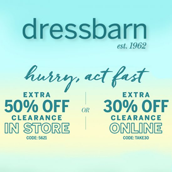 f648b4c1c8 50% Off Women s Clothing In-Store + Extra 30% Off Online Senior ...